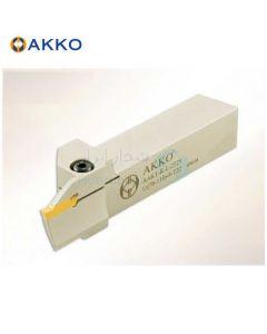 هلدر تراشکاری شیار پیشانی روتراش 25x25 برش کورلوی 3 برای قطر 34 الی 45 حداکثر عمق برش 17 اکو AKKO کد محصول AAKT K R/L 2525 34-45-3 T17