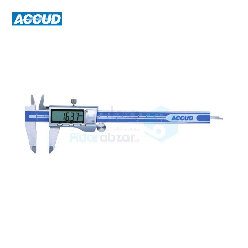 کولیس دیجیتال 15 سانتی متر دقت 0.01 قاب فلزی اکاد ACCUD کد ACD-111-06-16