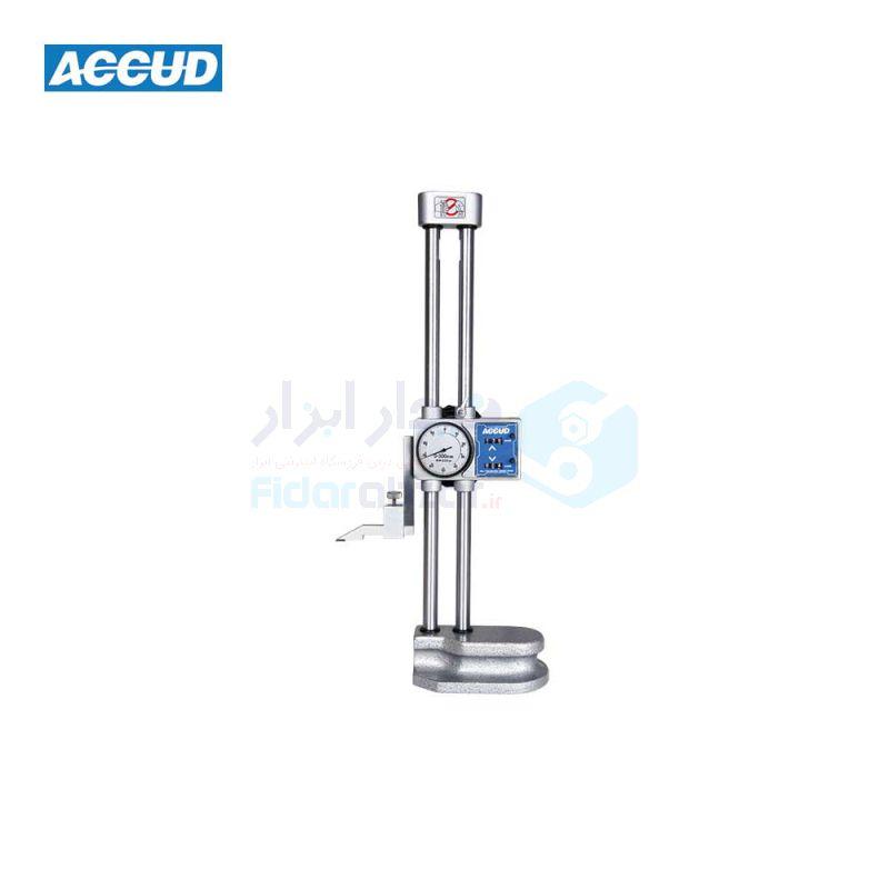 کولیس پایه دار ساعتی 30 سانت دقت 0.01 کنتوردار اکاد ACCUD کد ACD-185-012-11