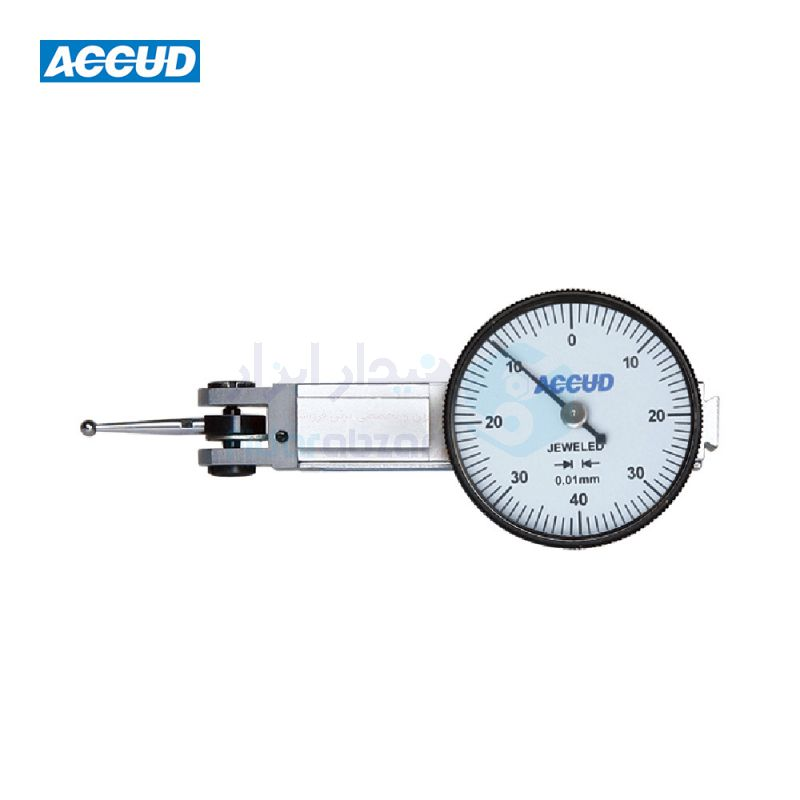 ساعت شیطانکی کورس 0.8 میلیمتر ساعتی دقت 0.01 صفحه کوچک جنس نقطه تماس پراپ یاقوت اکاد ACCUD کد ACD-261-002-01