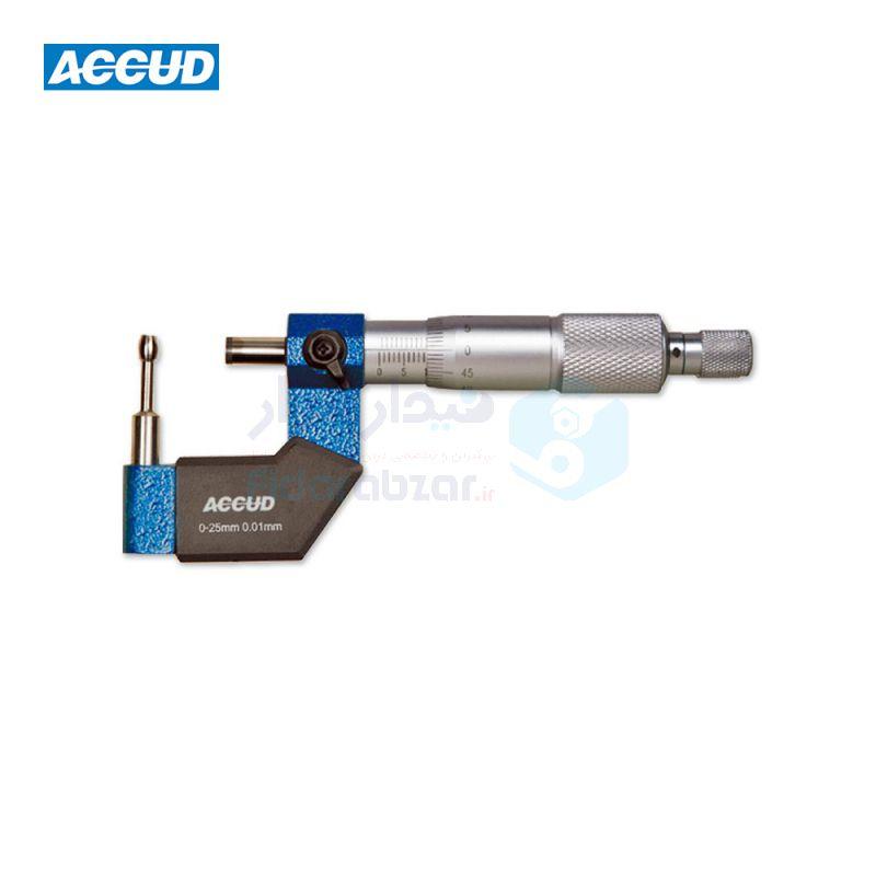ریزسنج لوله ورنیه 0-25 میلیمتر دقت 0.01 اکاد ACCUD کد ACD-341-001-04