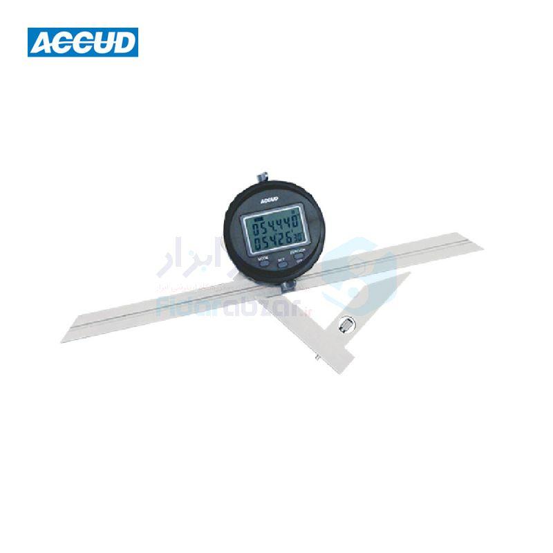 نقاله صنعتی (زاویه سنج) یونیورسال دیجیتال 360 درجه طول خط کش 30 سانت اکاد ACCUD کد ACD-822-360-01