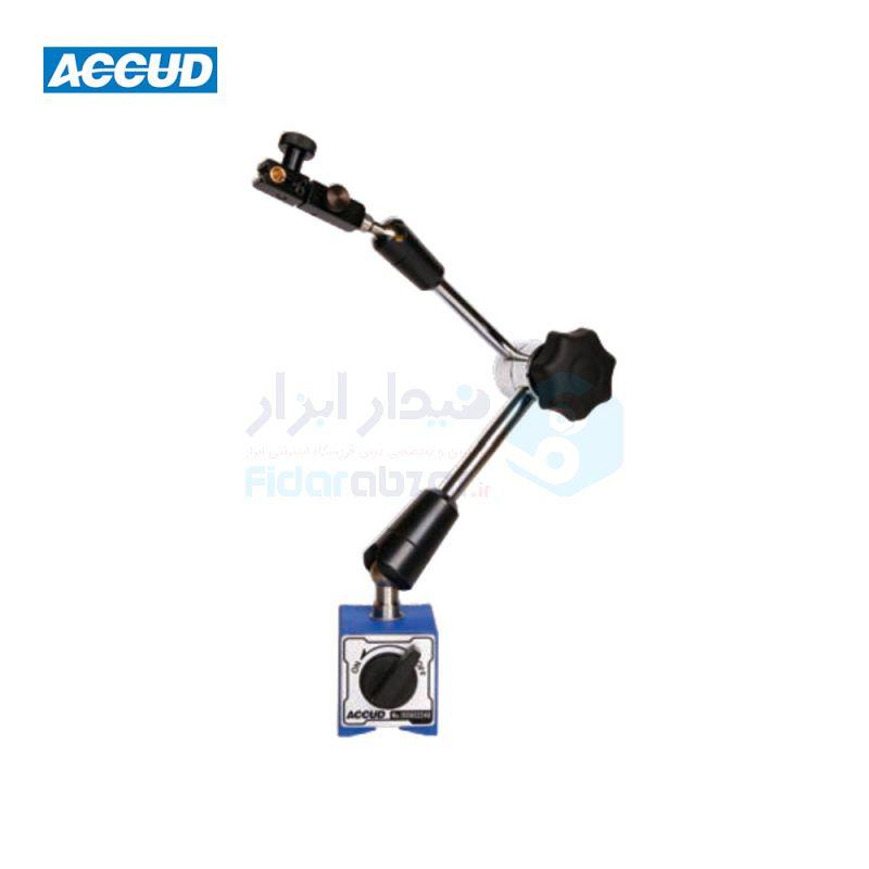 پایه ساعت شیطانکی و اندیکاتور مگنتی مفصلی اکاد ACCUD کد ACD-282-080-02
