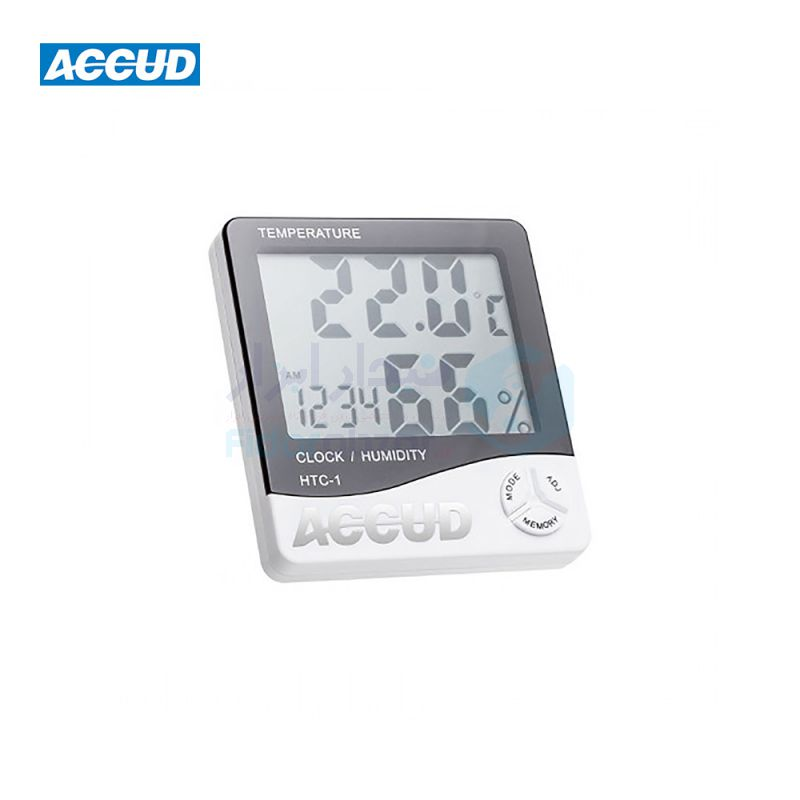 دماسنج و رطوبت سنج محیط اکاد ACCUD کد ACD-HTC-1