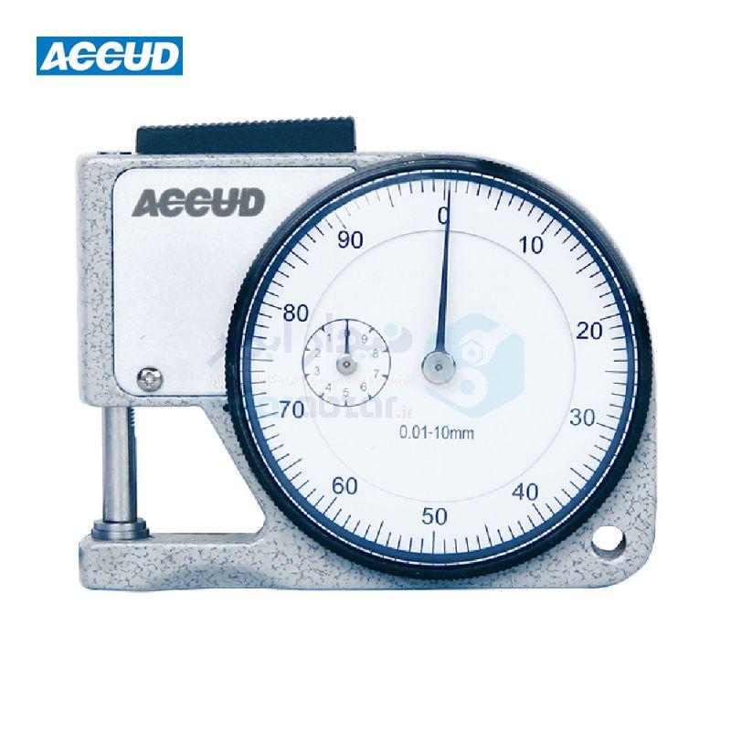 ضخامت سنج 10 میلیمتر ساعتی دقت 0.01 میلیمتر اکاد ACCUD کد ACD-447-010-11
