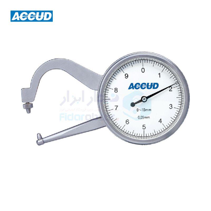 ضخامت سنج 10 میلیمتر ساعتی دقت 0.05 میلیمتر اکاد ACCUD کد ACD-452-010-11