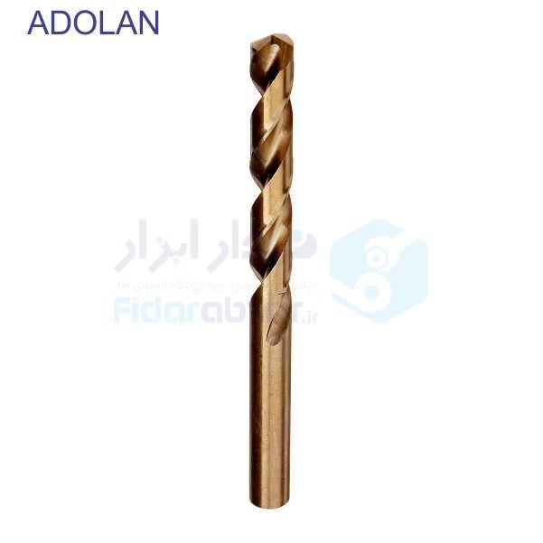 مته سوراخکاری قطر 0.5 طول لبه برنده 6 طول کل 22 متریال HSS-CO5% دین 338 آدولان ADOLAN کد TDCADHSSCO338-0.5