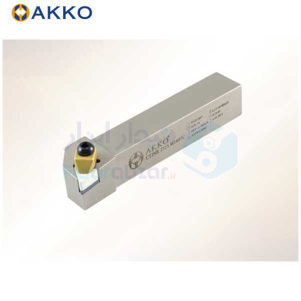 هلدر تراشکاری روتراش سیستم روبند 25x25 الماس TN 1607 اکو AKKO کد محصول CTJNR/L 25x25 M1607C