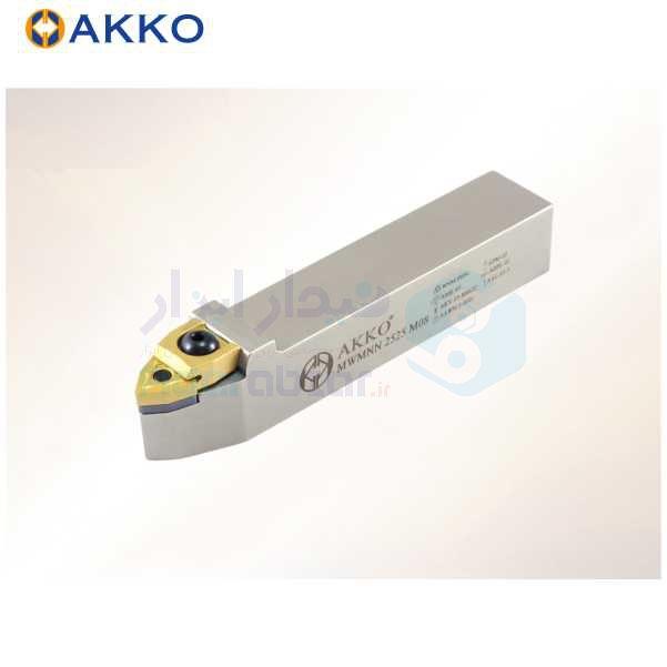هلدر تراشکاری روتراش کلمپی 16x16 الماس WN 0604 اکو AKKO کد محصول MWMNN 16x16 H06