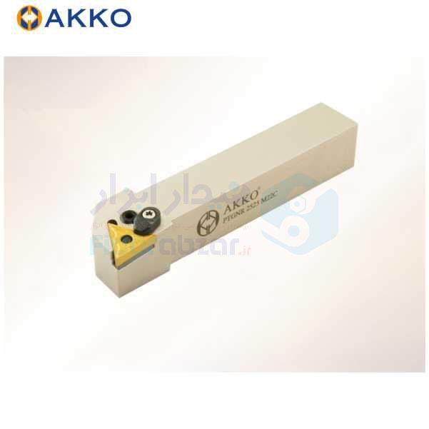 هلدر تراشکاری روتراش چکمه خور 10x10 الماس TN 1103 اکو AKKO کد محصول PTGNR/L 1010 E11