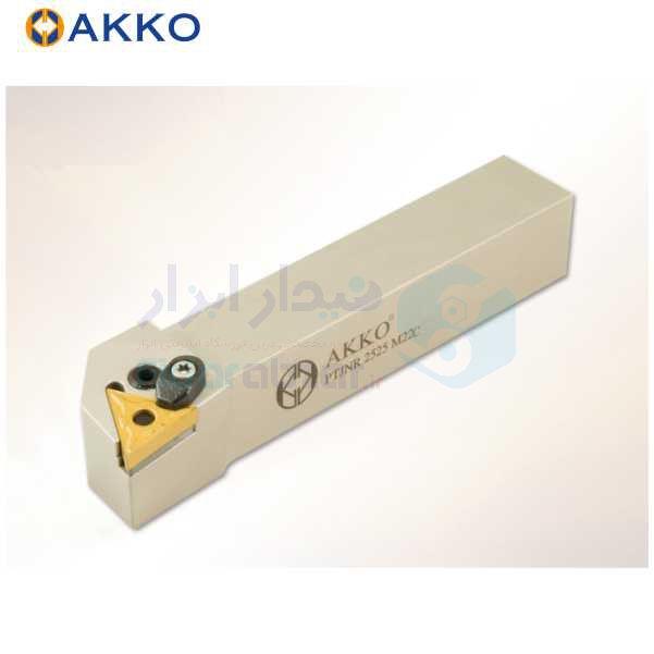 هلدر تراشکاری روتراش چکمه خور 10x10 الماس TN 1103 اکو AKKO کد محصول PTJNR/L 1010 E11