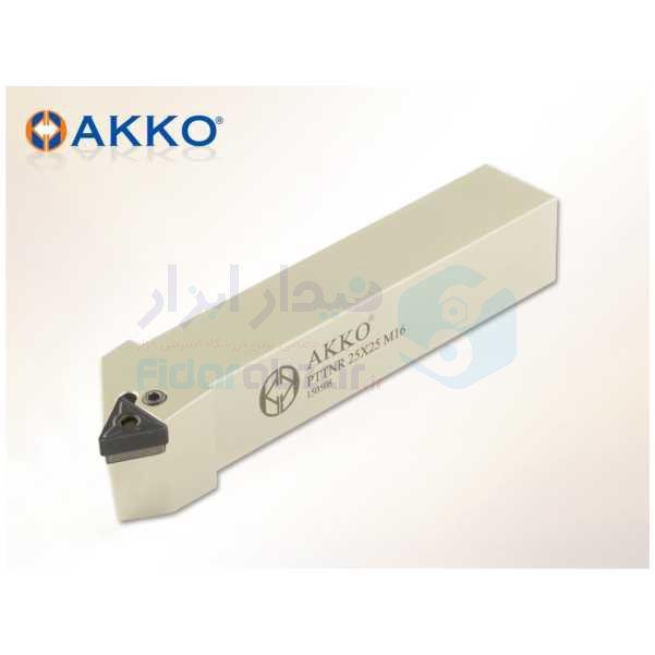 هلدر تراشکاری روتراش چکمه خور 16x16 الماس TN 1604 اکو AKKO کد محصول PTTNR/L 1616 H16