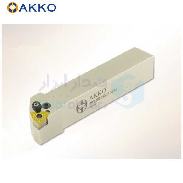 هلدر تراشکاری روتراش چکمه خور 16x16 الماس WN 0604 اکو AKKO کد محصول PWLNR/L 1616 H06