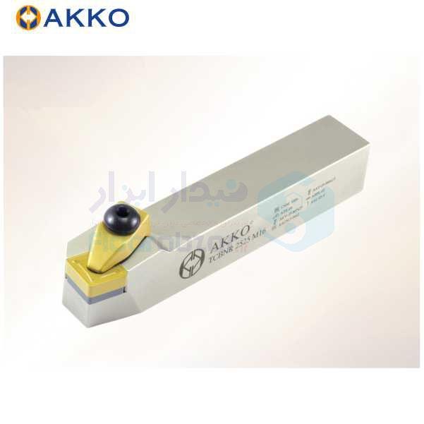 هلدر تراشکاری روتراش سیستم روبندی 25x25 الماس CN 1606 اکو AKKO کد محصول TCBNR/L 25x25 M16