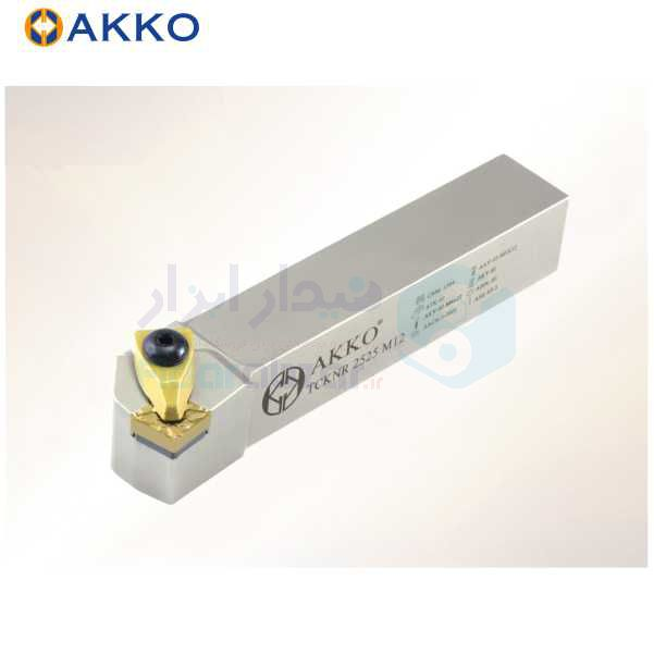 هلدر تراشکاری روتراش سیستم روبندی 20x20 الماس CN 1204 اکو AKKO کد محصول TCKNR/L 20x20 K12