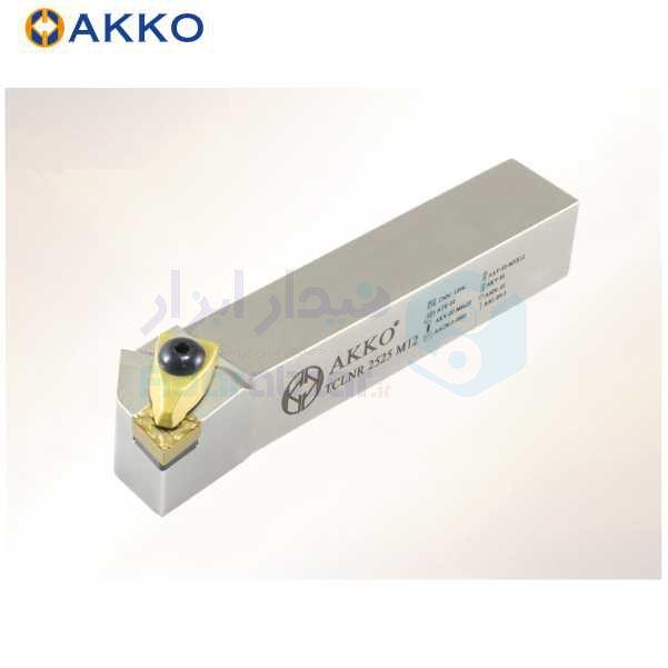 هلدر تراشکاری روتراش سیستم روبندی 20x20 الماس CN 1204 اکو AKKO کد محصول TCLNR/L 20x20 K12