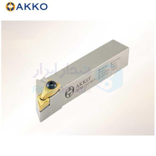 هلدر تراشکاری روتراش سیستم روبندی 16x16 الماس DN 1104 اکو AKKO کد محصول TDJNR/L 16x16 H11