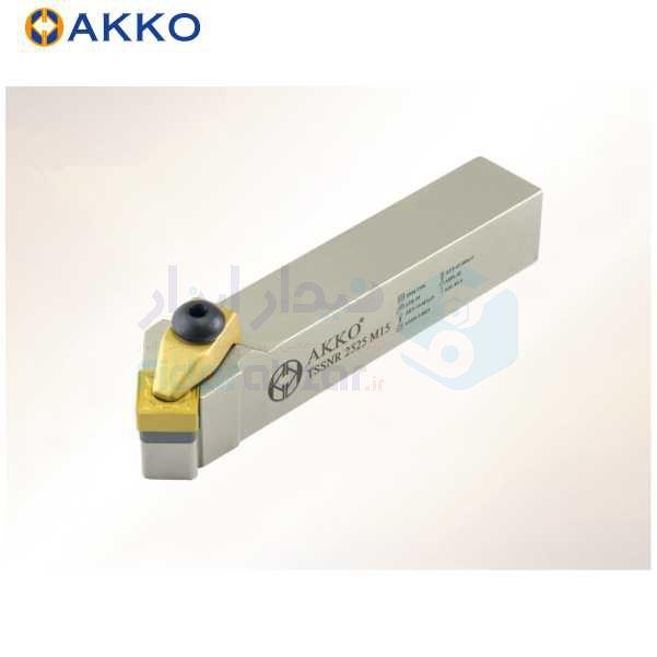 هلدر تراشکاری روتراش سیستم روبندی 20x20 الماس SN 1204 اکو AKKO کد محصول TSSNR/L 20x20 K12