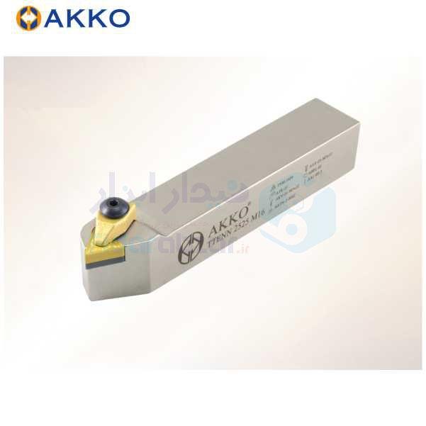 هلدر تراشکاری روتراش سیستم روبندی 20x20 الماس TN 1604 اکو AKKO کد محصول TTENN 20x20 K16