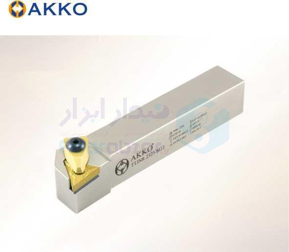 هلدر تراشکاری روتراش سیستم روبندی 20x20 الماس TN 1604 اکو AKKO کد محصول TTJNR/L 20x20 K16