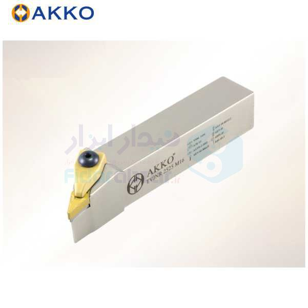 هلدر تراشکاری روتراش سیستم روبندی 20x20 الماس VN 1604 اکو AKKO کد محصول TVJNR/L 20x20 K16