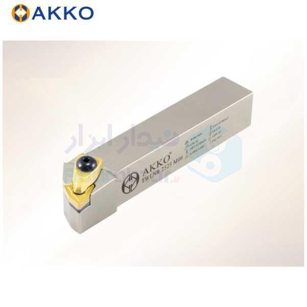 هلدر تراشکاری روتراش سیستم روبندی 16x16 الماس WN 0604 اکو AKKO کد محصول TWLNR/L 16x16 H06