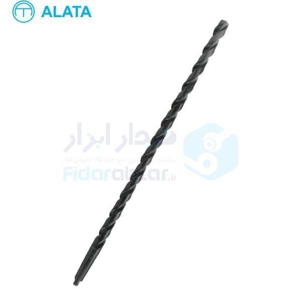 مته بلند قطر 13 میلیمتر طول کل 300 میلیمتر HSS آلاتا ALATA کد محصول TDTAL300-13