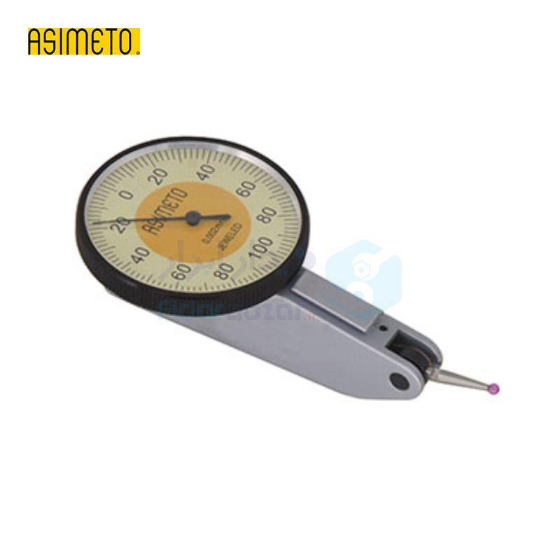 ساعت شیطانکی کورس 0.2 میلیمتر ساعتی دقت 0.01 صفحه کوچک اسیمتو ASIMETO کد AS-501-02-2