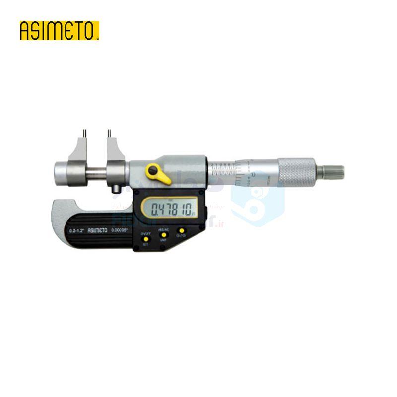 ریزسنج داخل سنج 5-30 دیجیتال دقت 0.001 اسیمتو ASIMETO کد AS-207-01-0