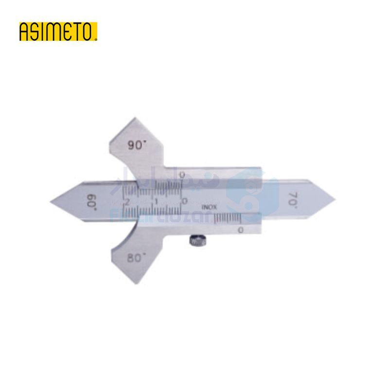 گیج جوشکاری ورنیه اسیمتو ASIMETO کد AS-325-58-6