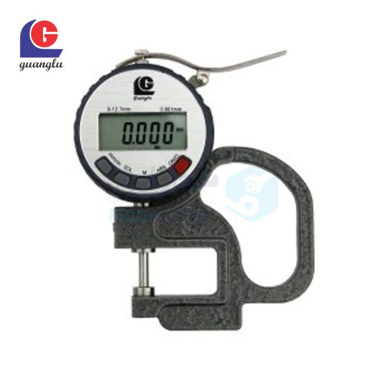 ضخامت سنج 0-10 میلیمتر دیجیتال دقت 0.01 میلیمتر بازو 30 میلیمتر گوانگلو (ال جی) GUANGLU کد GL-316-150