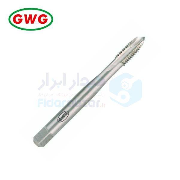 قلاویز ماشینی UNC 1/4x20 فرم B شیار مستقیم HSS-G دین 371 جی دابلیو جی GWG کد محصول MT-HSSG-371-B-N-UNC-1/4x20