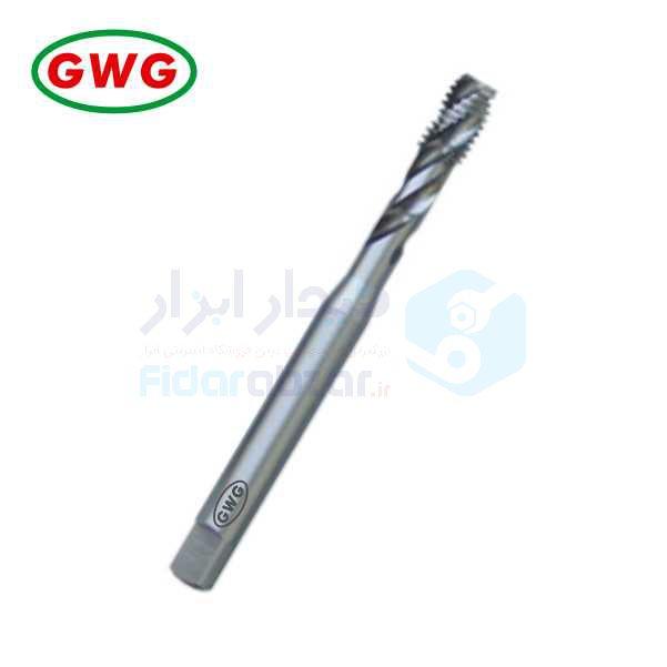 قلاویز ماشینی UNC 1/4x20 فرم C شیار مارپیچ 35 درجه HSS-G دین 371 جی دابلیو جی GWG کد محصول MT-HSSG-371-C-35-UNC-1/4x20