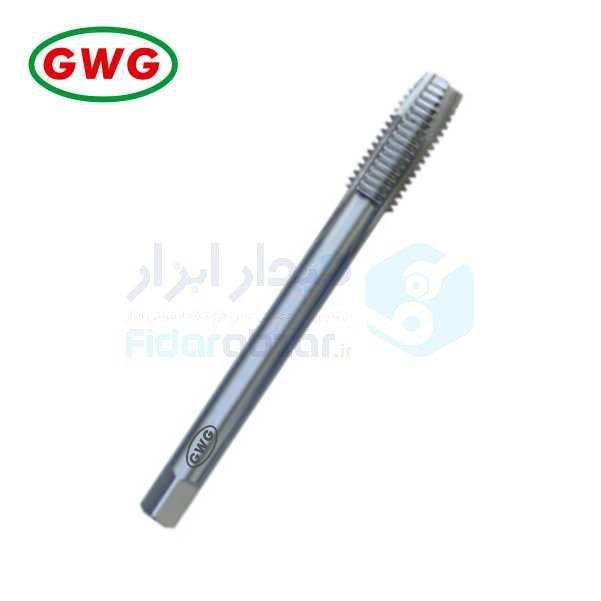 قلاویز ماشینی BSW 1/4x20 فرم B شیار مستقیم HSS-G دین 376 جی دابلیو جی GWG کد محصول MT-HSSG-376-B-N-BSW-1/4x20