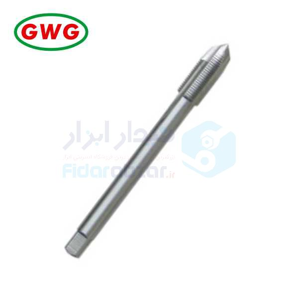 قلاویز لوله ماشینی G 1/8x28 فرم B شیار مستقیم HSS-G دین 5156 جی دابلیو جی GWG کد محصول MT-HSSG-5156-B-N-G1/8x28