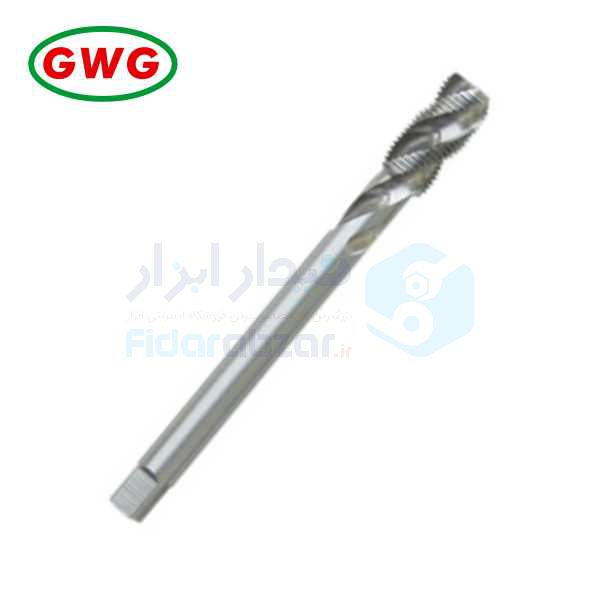 قلاویز لوله ماشینی G 1/8x28 فرم C شیار مارپیچ 35 درجه HSS-G دین 5156 جی دابلیو جی GWG کد محصول MT-HSSG-5156-C-35-G1/8x28