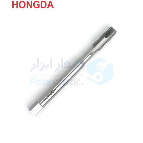 قلاویز ماشینی BSW 1/4x20 فرم B شیار مستقیم HSS دین 371 هونگدا HONGDA کد محصول MT-HSS-371-B-N-BSW-1/4x20