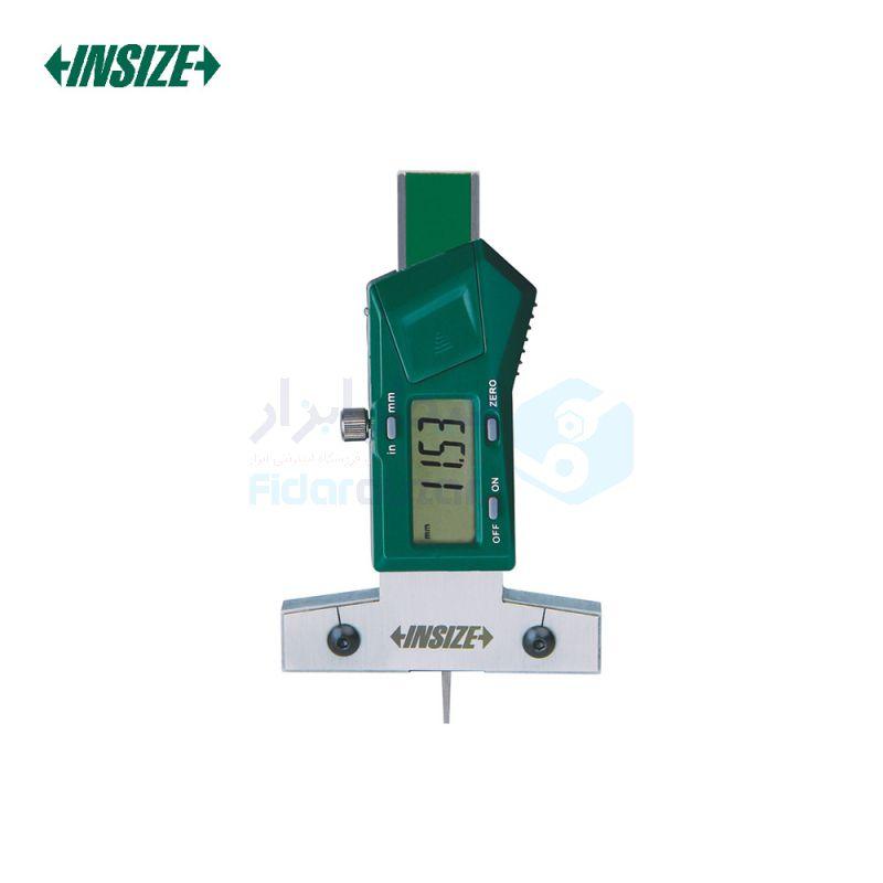 کولیس دیجیتال 2.5 سانت عمق سنج شیار لاستیک دقت 0.01 اینسایز INSIZE کد INZ-1145-25A