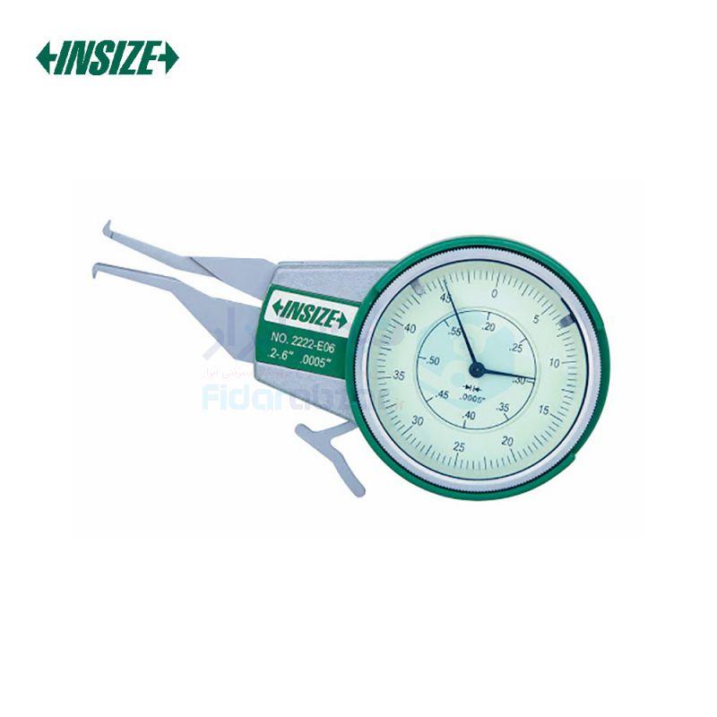 پرگار داخل سنج 5-15 میلیمتر ساعتی دقت 0.01 میلیمتر اینسایز INSIZE کد INZ-2222-15