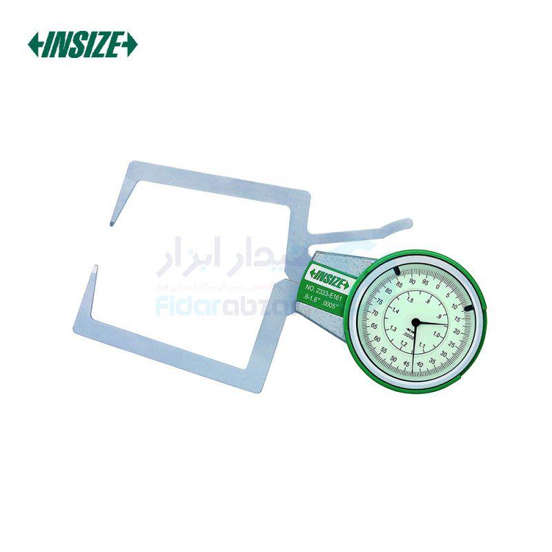 پرگار خارج سنج 0-20 میلیمتر ساعتی دقت 0.01 میلیمتر اینسایز INSIZE کد INZ-2333-201