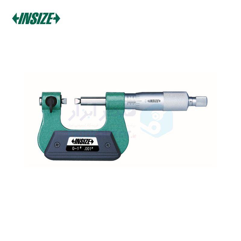 ریزسنج پیچ ورنیه 0-25 دقت 0.01 اینسایز INSIZE کد INZ-3281-25A