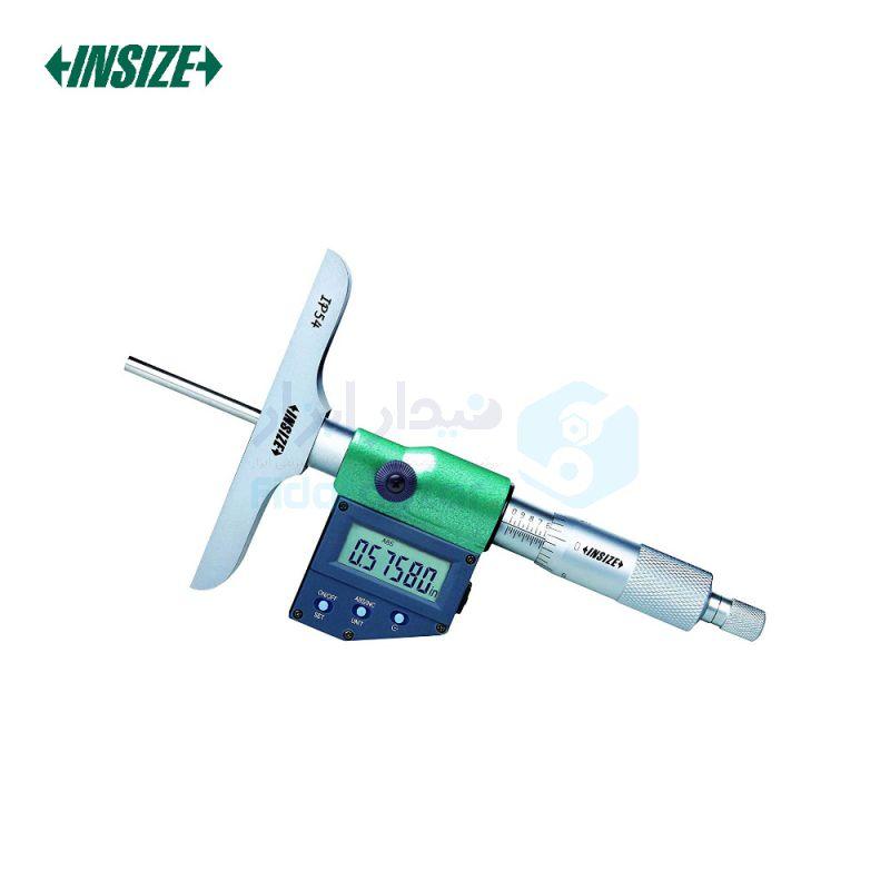 میکرومتر عمق سنج (صلیبی) 0-50 دیجیتال دقت 0.001 اینسایز INSIZE کد INZ-3540-50