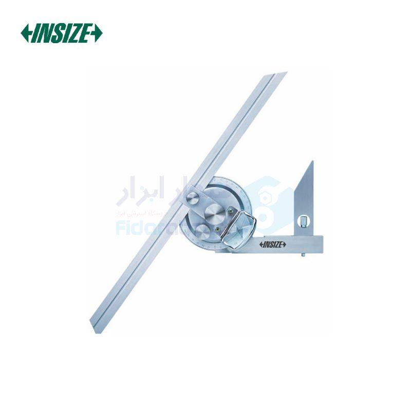 نقاله (زاویه سنج) یونیورسال ساده 360 درجه طول خط کش 30 سانت اینسایز INSIZE کد INZ-2372-360