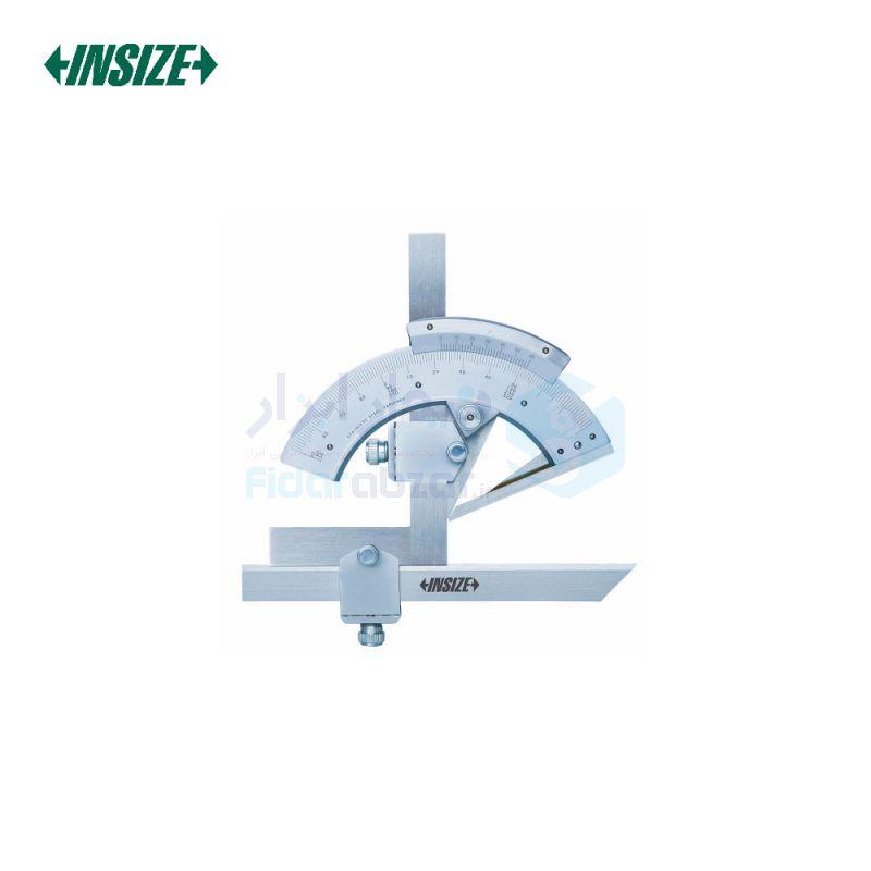 نقاله (زاویه سنج) یونیورسال ساده 320 درجه طول خط کش 15 سانت اینسایز INSIZE کد INZ-2374-320