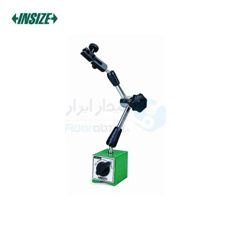پایه ساعت اندیکاتور و شیطانکی مگنتی مفصلی 80 کیلوگرم با پیچ تنظیم ظریف اینسایز INSIZE کد INZ-6210-81