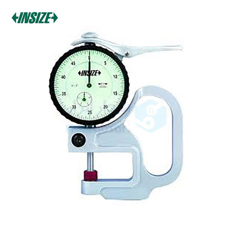 ضخامت سنج 10 میلیمتر ساعتی دقت 0.01 میلیمتر فک سرامیکی اینسایز INSIZE کد INZ-2364-10