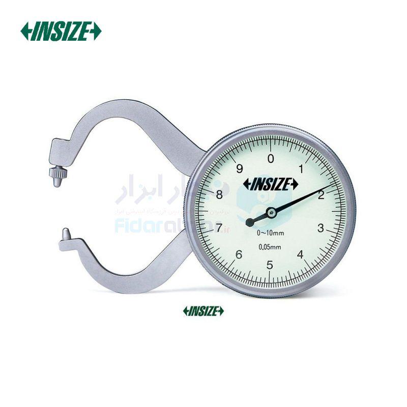 ضخامت سنج 10 میلیمتر ساعتی دقت 0.05 میلیمتر اینسایز INSIZE کد INZ-2863-10