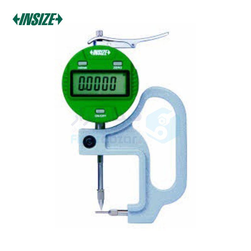 ضخامت سنج دیواره لوله 10 میلیمتر دیجیتال دقت 0.01 میلیمتر اینسایز INSIZE کد INZ-2873-10