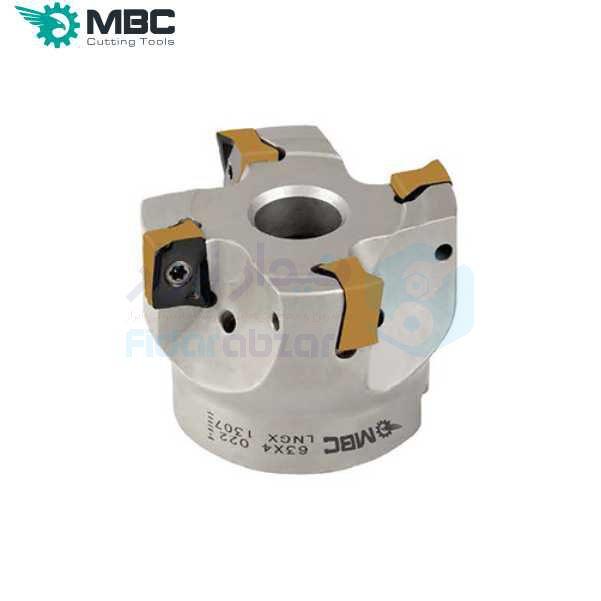 کفتراش فرزکاری قطر 100 شفت 32 اینسرت LN.. 1205.. ام بی سی MBC کد محصول EM90 100X6 032 LNGX 1205