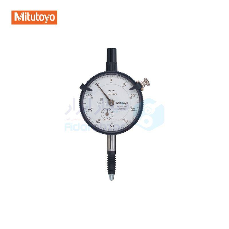 ساعت اندیکاتور کورس 0-1 میلیمتر ساعتی (انالوگ) دقت 0.001 میلیمتر میتوتویو MITUTOYO کد MT-2109S